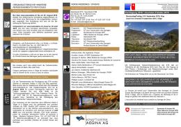 Fachtagung 2016 / Journées d`études 2016 ORGANES DE
