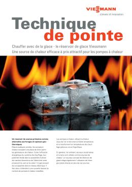 Réservoir de glace