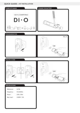 MANUAL_DIO-DOMO53 - Manual - NEDIS