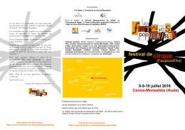 programme fantaisies populaires