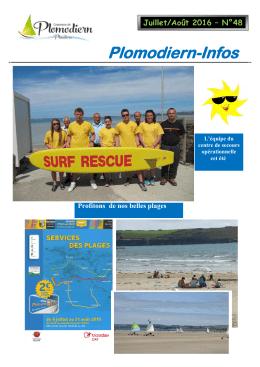 juillet Août 2016 - Commune de Plomodiern