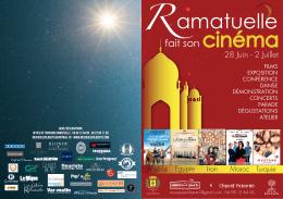 Programme Ramatuelle fait son cinéma 2016