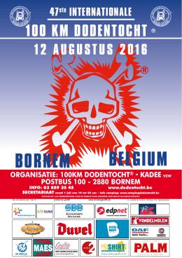 Wandelboekje - 100 km Dodentocht® Kadee Bornem