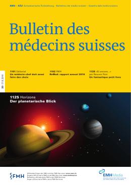 Bulletin des médecins suisses 33/2016