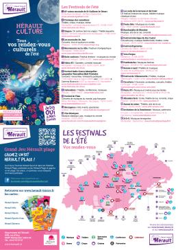 Carte Hérault Culture