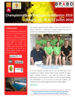 PRÉSENTATION - Natation club Athus