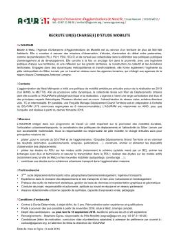 AGURAM_Poste_Charge_d_etudes_mobilite