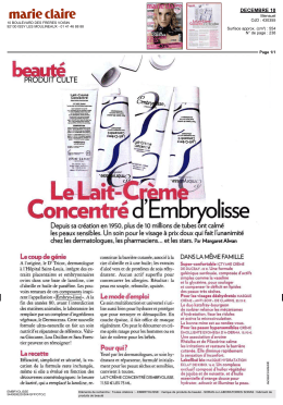 Concentré a Embryolisse
