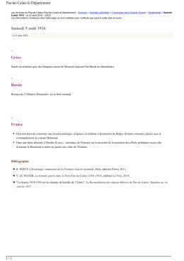 Générer en PDF - max 1,5 MO - Les Archives du Pas-de