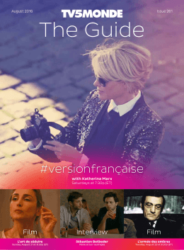 The Guide - TV5 Monde