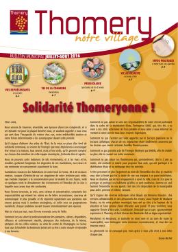 Juillet août 2016 - site officiel de la mairie de thomery