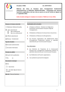 Document PDF - Gallilex - Fédération Wallonie