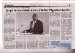 Affaire Moukagni-Iwangou contre Ali Bongo.
