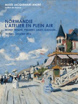 normandie l`atelier en plein air - Musée Jacquemart