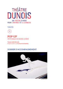 POP-UP - Théâtre Dunois
