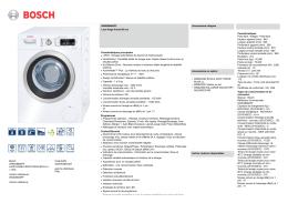 bosch lave-linge waw28660ff