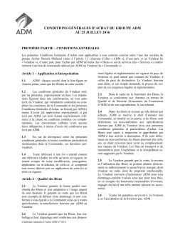 conditions générales d`achat du groupe adm au 25 juillet 2016