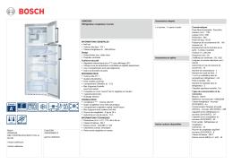 Bosch KDN30X45 REF 2 PORTES NO