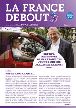 lire la France Debout