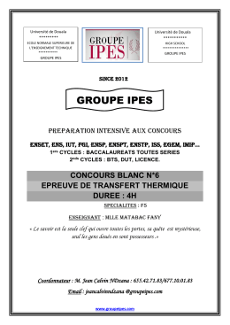 GROUPE IPES