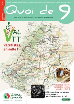 Quoi de 9 n°36 - Communauté de Communes des Vallons du