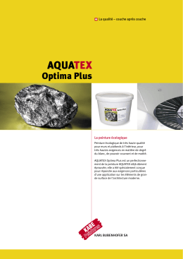 Aquatex Optima Plus