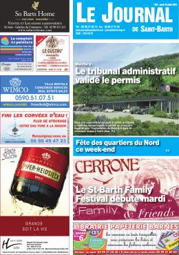 actualités - Journal de Saint Barth
