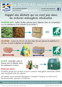 Ordures ménagères : que faire des tontes, cartons, bouteilles