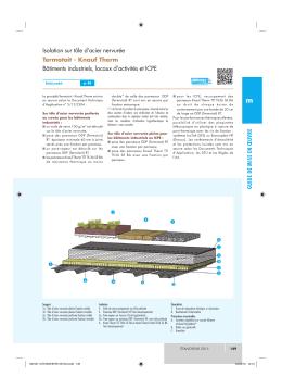 Knauf Therm Bâtiments industriels, locaux d`activités et ICPE