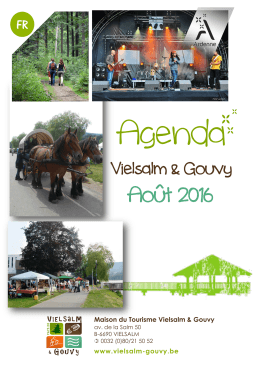 Téléchargez notre agenda du mois (PDF A4 recto