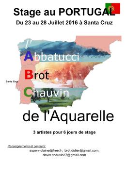 Stage au PORTUGAL