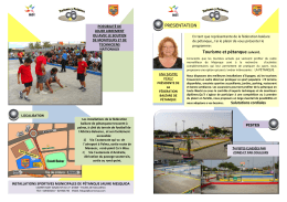 Tourisme et pétanque suivant. - Federación Balear de Petanca