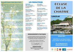 depliant 2016 - Agenda collaboratif du territoire de l`Auxois