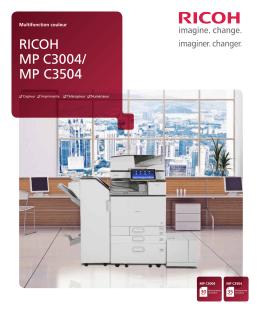 mp c3504 - Ricoh Canada
