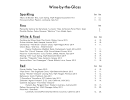 Wine and Cocktail List PDF