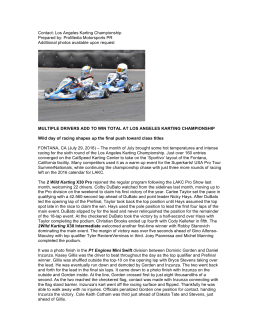 Contact: Los Angeles Karting Championship