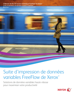 Suite d`impression de données variables FreeFlow