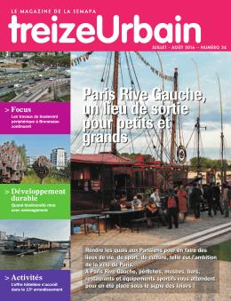 Paris Rive Gauche, un lieu de sortie pour petits et grands Paris Rive