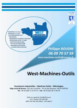 West Machines Outils