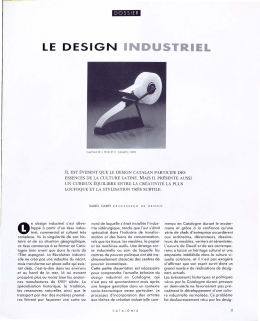 le design industriel