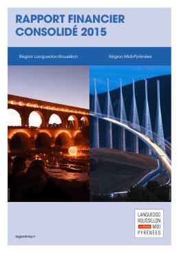 rapport financier consolidé 2015