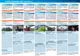 Les programmes de ViaStella du 30 juillet au 5
