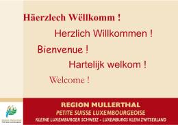de la ville d` Echternach - Région Mullerthal