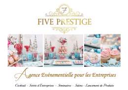 catalogue - Five Prestige