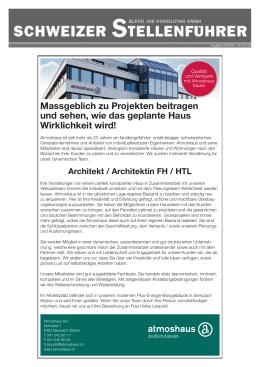 Nr.14, 2016 - stellenführer.ch - Die lokale Stellenbörse in der Schweiz