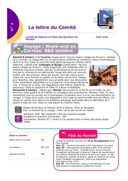 lettre - Quartier Le Monteil