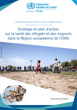 EUR/RC66/8: Strategy and action plan for refugee