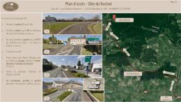 Plan d`accès - Gîte du Ruchot
