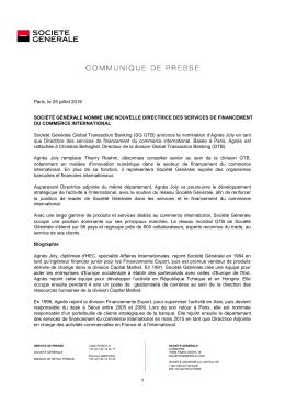 PDF 151ko - Société Générale