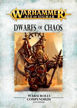 Compendium Age of Sigmar Nains du Chaos